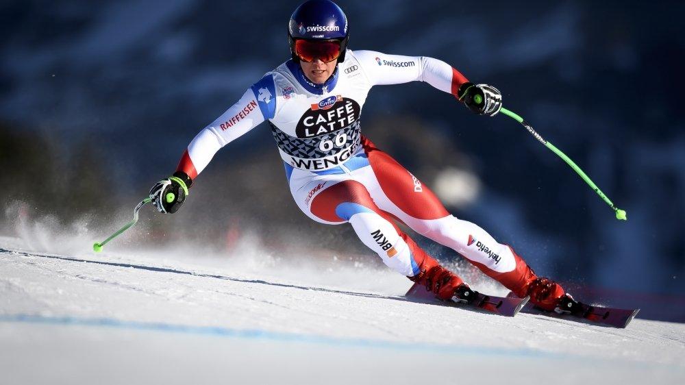 Le skieur martignerain Arnaud Boisset de retour au premier plan, dix mois après sa blessure