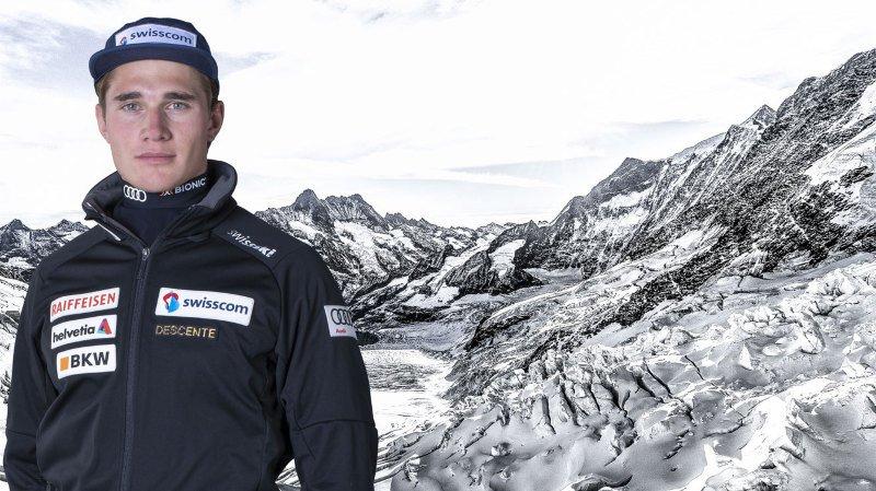 Arnaud Boisset, le skieur valaisan de Coupe d'Europe qui mène une vie à pleine vitesse